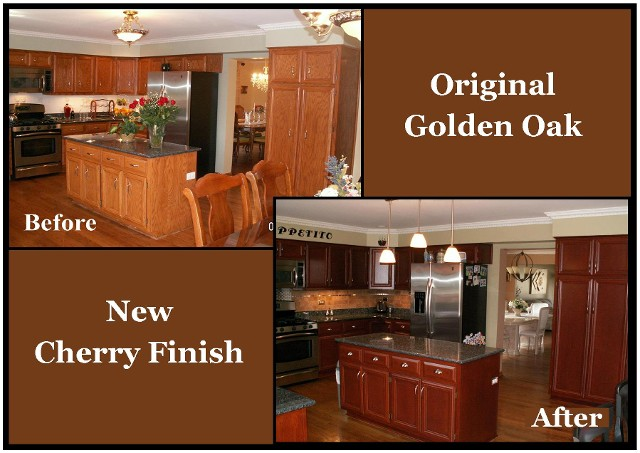 Naperville kitchen cabinet refinishers 630 922 9714 - Refinish old kitchen cabinets ...