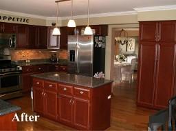 Oakbrook kitchen cabinet refinishing cabinet restoration schaumburg
